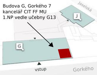 mapa kanceláře